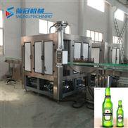 厂家供应玻璃瓶啤酒灌装机 玻璃 瓶灌装设备