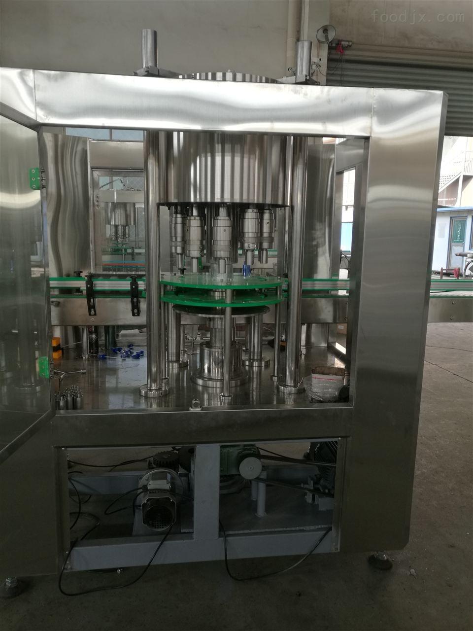 小型全自动酒精灌装生产线