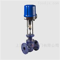 进口气动薄膜法兰调节阀进口YTC定位器