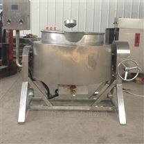 不锈钢全自动小型电加热熟食卤煮夹层锅