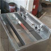 石家庄不锈钢医用洗手池 感应式 手拧式洗手池
