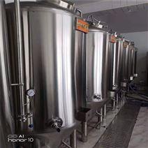 新疆500升自酿啤酒设备 酿酒机器