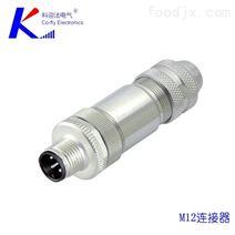 科迎法M12连接器 M12传感器