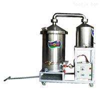 家用双层锅酿酒设备 纯粮蒸酒机
