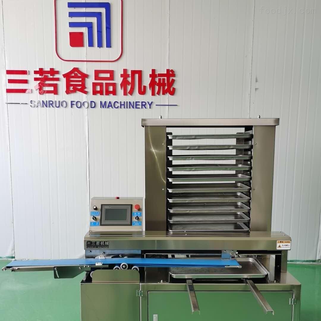 全自动立式酥饼排盘机