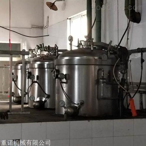 鸡蛋干粽子锅燃气高压蒸煮锅厂家