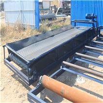 廠家定製單槽鋼主架升降糧食皮帶輸送機