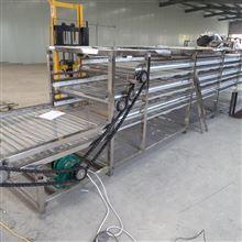 S大型生产中药材空气能烘干流水线