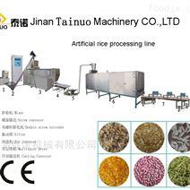 70型加长人造米设备 营养米双螺杆膨化机