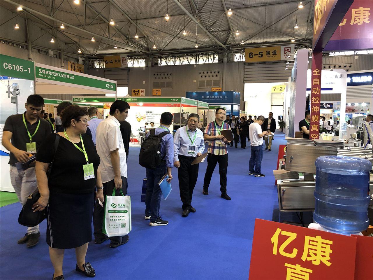 第十七屆中國國際肉類工業展覽會現場圖集
