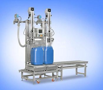 25升方桶涂料液面下灌装机,化工油脂灌装机